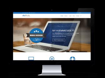 Vores nye hjemmeside